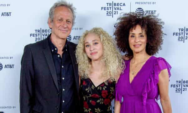 Alexandre Rockwell, Lana Rockwell and Karyn Parsons attend the Sweet Thing premiere in New York.