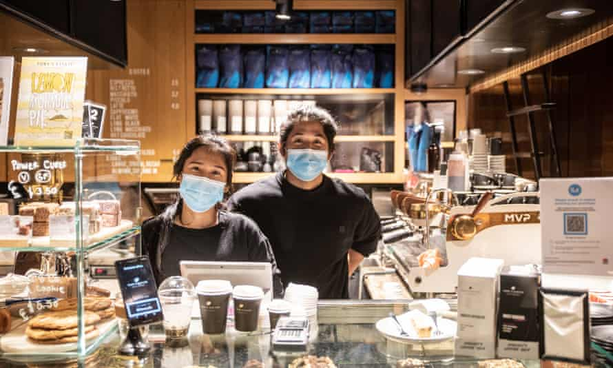 A cafe in Sydney's CBD reopens on Monday