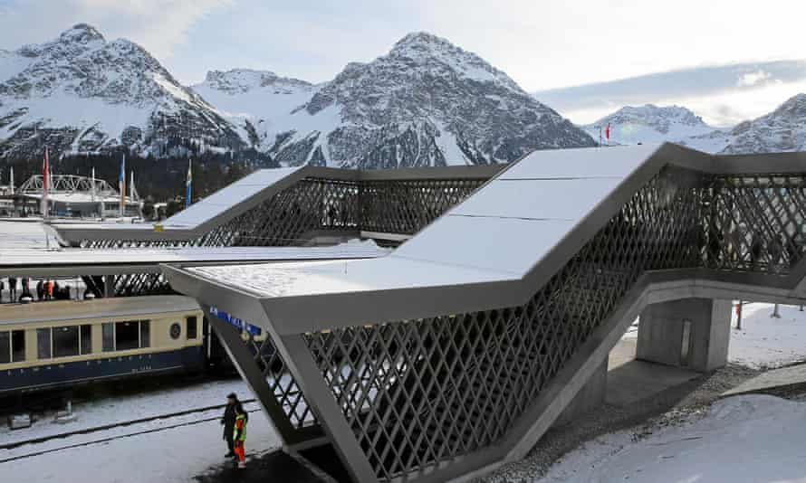 Arosa station, Switzerland