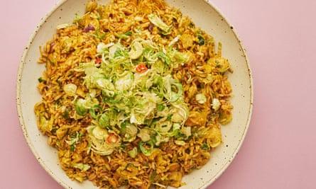 Meera's nasi goreng: fried rice, but not as you know it.