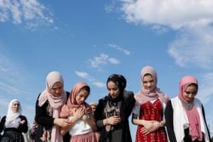 Eid al-Fitr prayers at Staten Island