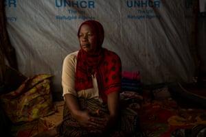 Tausi Rajabu, 44, born a refugee in Congo in 1972