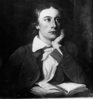 John Keats: coined the phrase 'negative capability'.