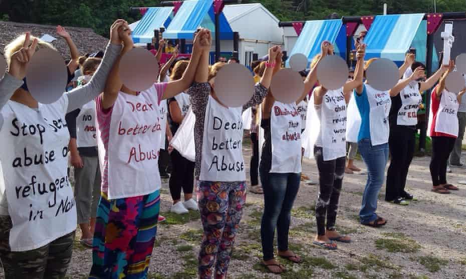 Asylum seekers on Nauru