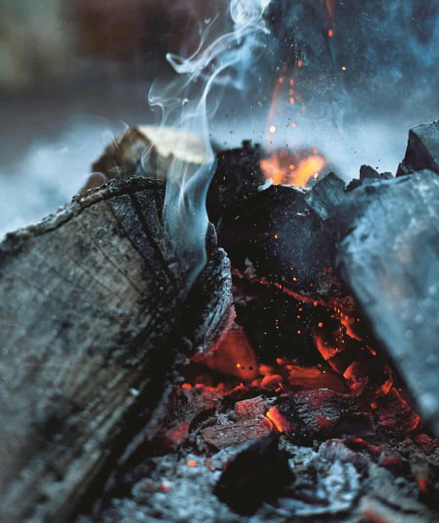 Honey & Co: Chasing Smoke. Coals smouldering.