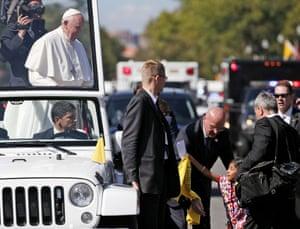 Sophie Cruz Pope Francis