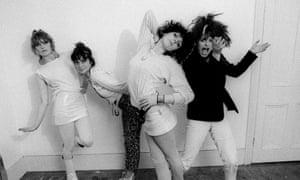THE SLITS - 1970SMandatory Credit: Photo by Ray Stevenson / Rex Features (563337h) The Slits - Viv Albertine, Palmolive, Tessa Pollitt and Ari Up THE SLITS - 1970S