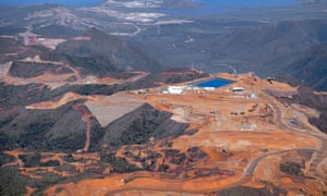 Glencore and Société Minière du Sud Pacifique's Koniambo mine in New Caledonia. The world is still on track for temperature rises of more than 3C this century.
