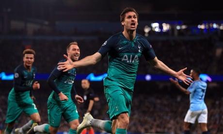 Tottenham win Champions League epic as Llorente stuns Manchester City