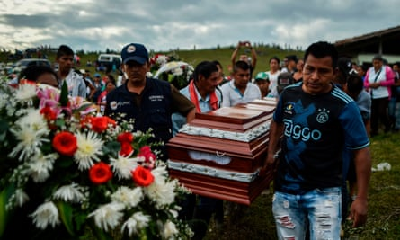 At least 123 activists, community leaders and human rights defenders have been murdered in Colombia this year.