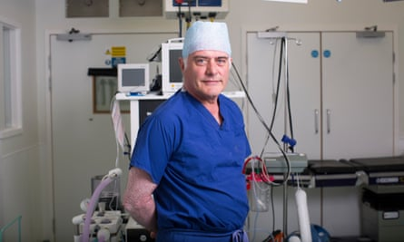Surgeon Phil Thomas from the Nuffield hospital in Brighton.