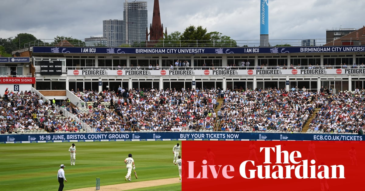 England v New Zealand: second Test, day one – live!