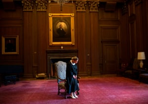 Ginsburg poses for a portrait in Washington DC on 30 August 2013.