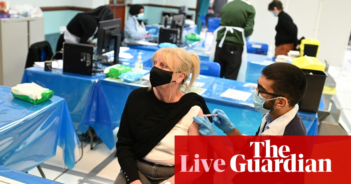 UK Covid live: officials consider 'surge vaccinations' to combat spread of Indian variant