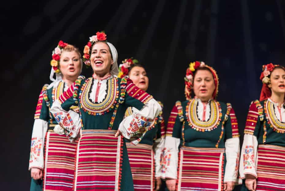 The Mystery of the Bulgarian Voices in concert.