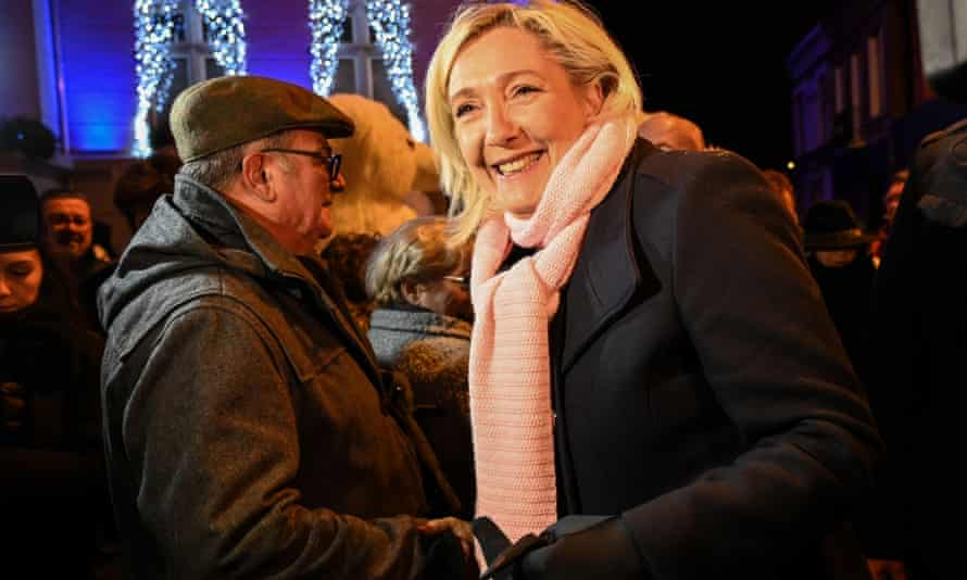 Marine Le Pen will be emboldened by Britain's rejection of Corbynism.