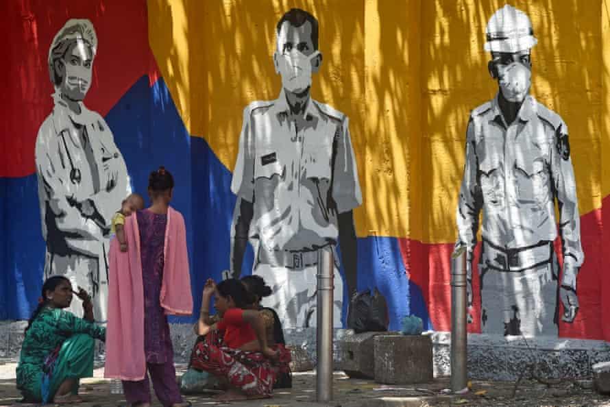Mural in Mumbai