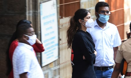 Rhea Chakraborty is taken into custody by the Narcotics Control Bureau