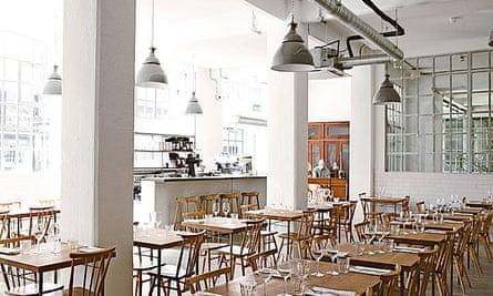 Photograph of Lyle's restaurant