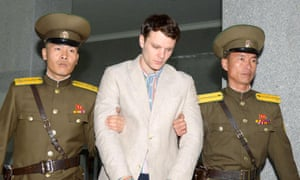 University of Virginia student Otto Warmbier has been detained in North Korea since early January.