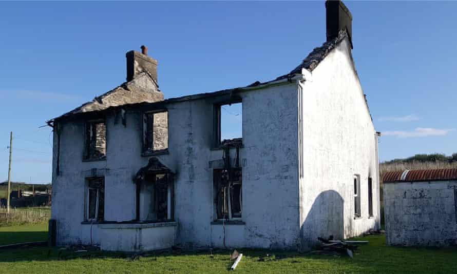 Pontyrhodyn farm, which Charles Chestnut set fire to