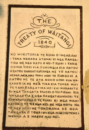 English and Maori versions of the Treaty of Waitangi had important differences.