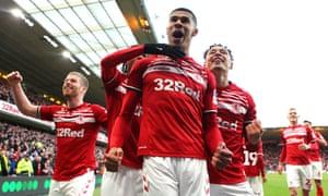 Middlesbrough celebrate