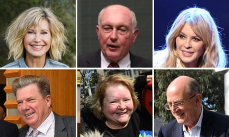 Australia Day honours list: Kylie Minogue and Peter Reith among 2019 recipients