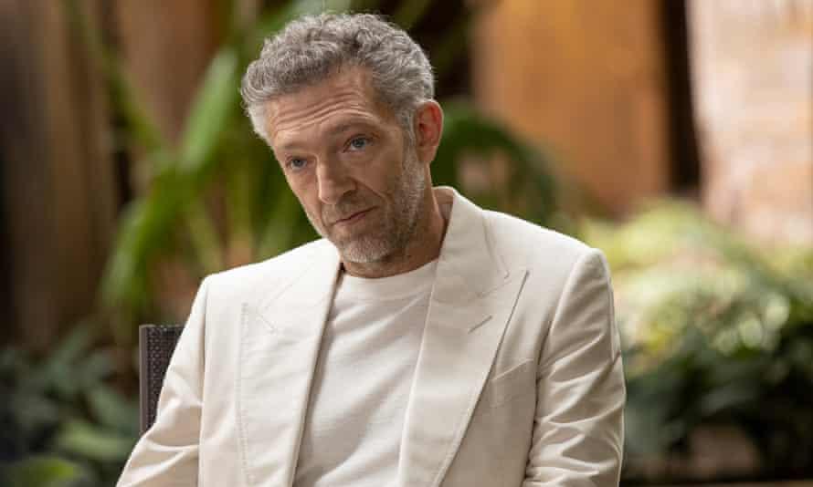 Man of mystery ... Vincent Cassel as Serac.