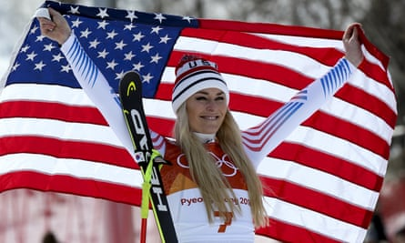 Lindsey Vonn was happy with her bronze medal