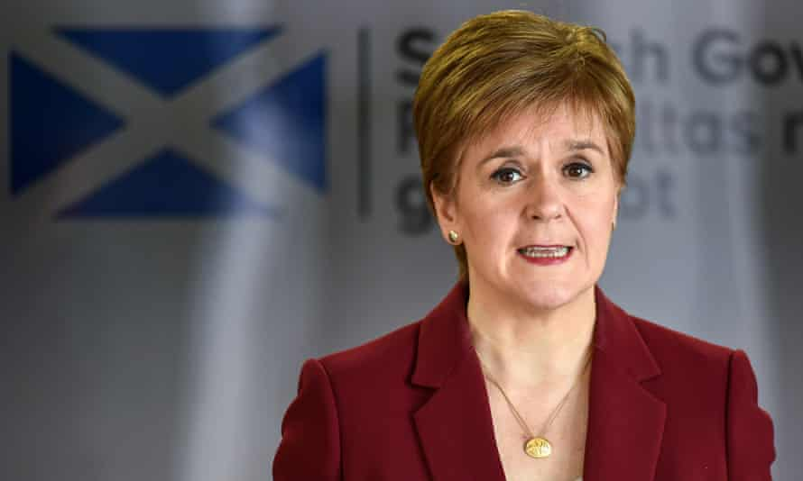 Nicola Sturgeon wanted to suspend jury trials to ensure courts were able to hold trials in the most serious cases during the coronavirus lockdown.