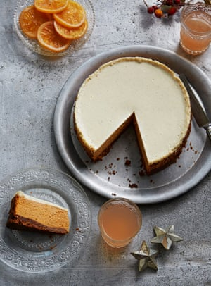 Butternut squash and spice cheesecake by Honey & Co's Sarit Packer and Itamar Srulovich.