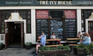 The Ivy House pub in London