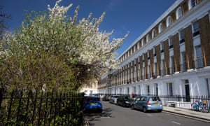 A terrace square in Islington