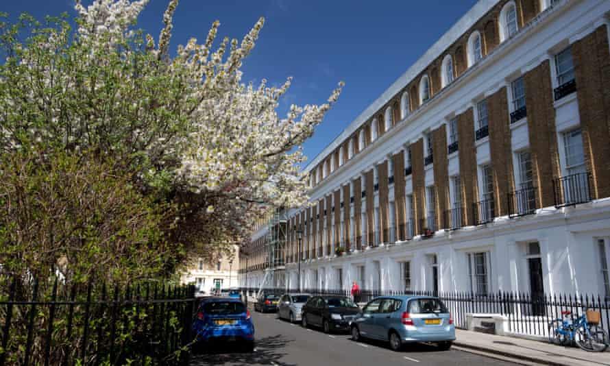 Houses in Islington, London
