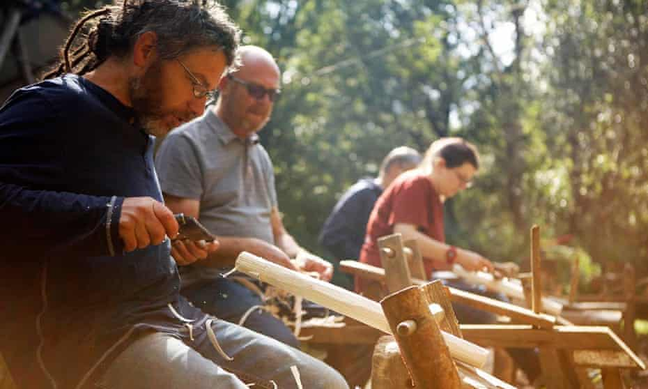 Make a seat … chair-making at Green Wood Days, Leicestershire