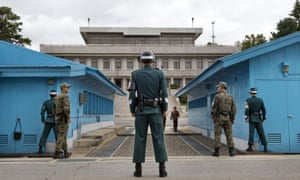 A North Korean soldier has defected to the South across the heavily fortified demilitarised zone.