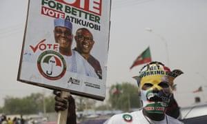 Supporter of Atiku Abubakar