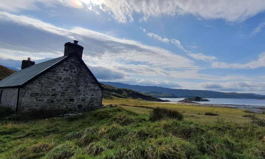 Peanmeanach Bothy, Ardnish peninsula, Highlands