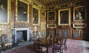 The Spanish Room at Kingston Lacy, Dorset