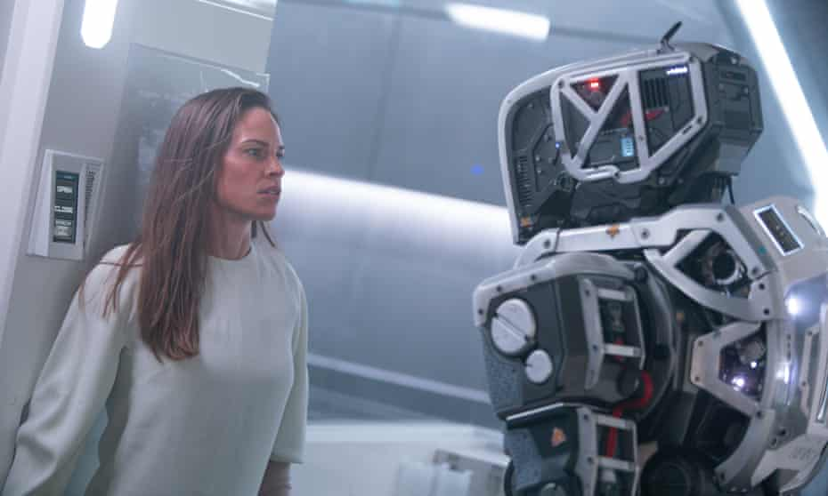Hilary Swank in I Am Mother.