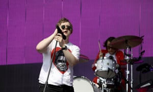 Musician Lewis Capaldi performs at the Other stage