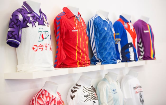 98f8d0fb More than a shirt: how classic football kits became works of art   Football    The Guardian
