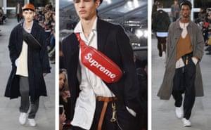 Models at Louis Vuitton AW17