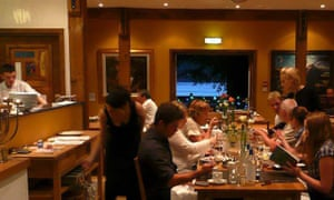 Restaurant at The Lime Tree, Fort William, Scotland