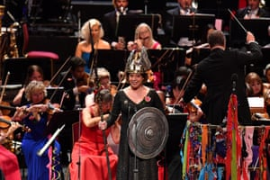 Soprano Nina Stemme performs Rule, Britannia! with the BBC Singers, BBC Symphony Chorus and the BBC Symphony Orchestra
