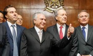 Brazil's new president, Michel Temer.