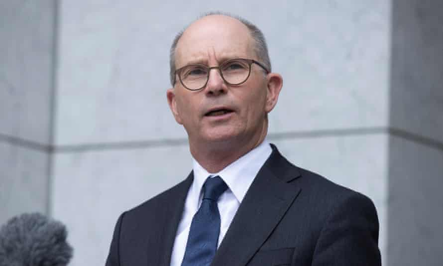Australia's chief medical officer Paul Kelly