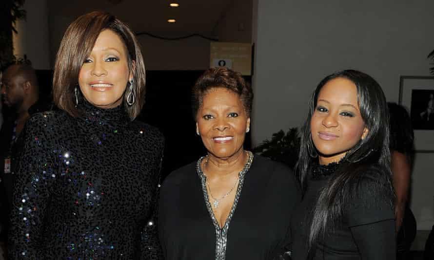 Houston with Dionne Warwick and Bobbi Kristina Brown.