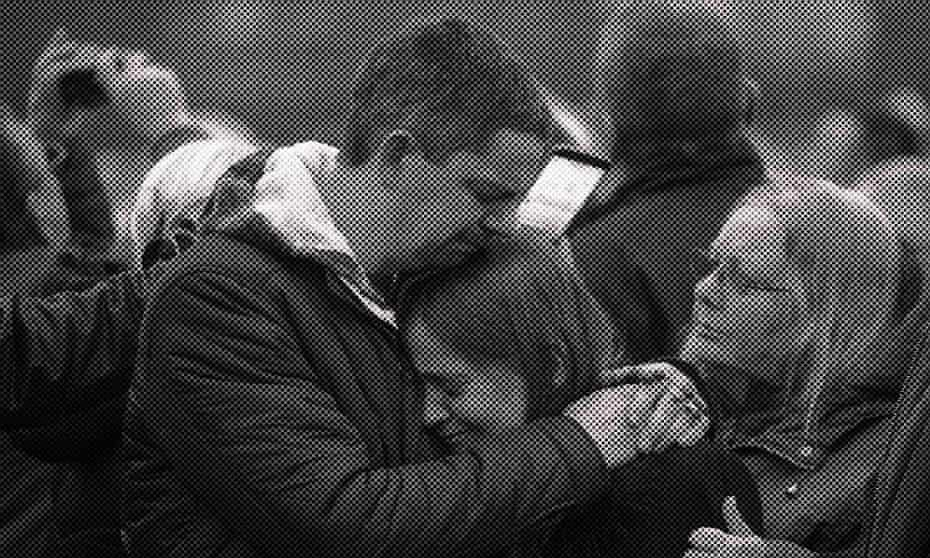 Katie Rough's parents, Paul and Alison. The couple were joined by hundreds of people in Westfield Park in York in January 2017 to release balloons on what would have been Katie's eighth birthday.